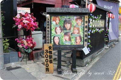 日本のストリップ劇場