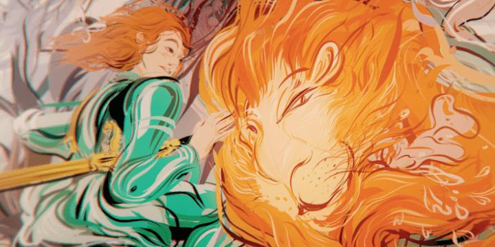 ライオンとアンジェリカ