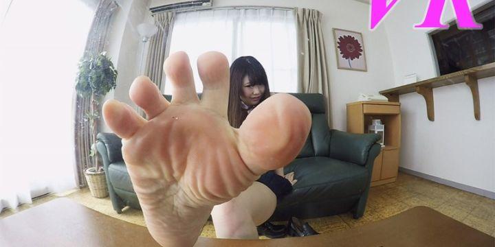 かすみちゃんの足裏