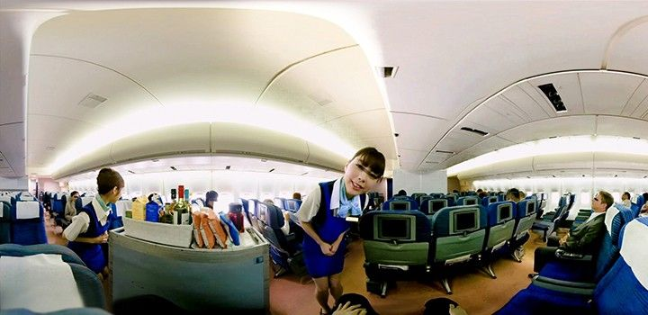 VR飛行機